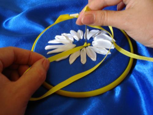Смотреть онлайн мастер класс вышивка из лент - ЛЕГИОН