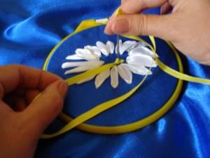 Мастер-класс по вышивке лентами